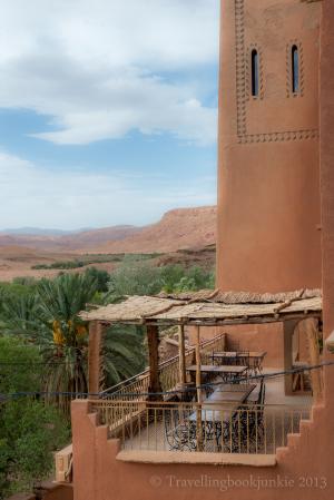 Dining Terrace, Kasbah Ellouze, Morocco