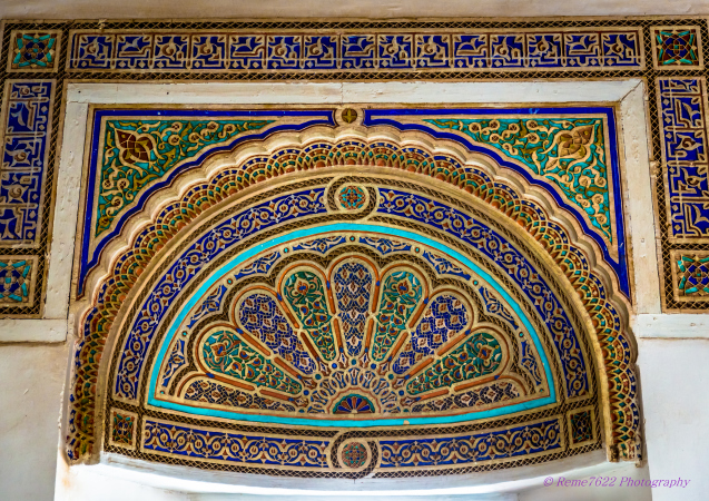 Bahia Palace Marrakech, Morocco