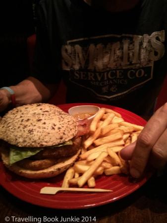 Leeds TGI's Burger
