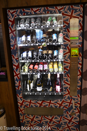 Qbic London vending Machine, Aldgate, UK