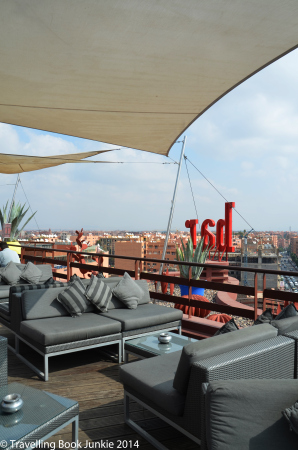 The Sky bar, Renaissance Hotel, Marrakech, Morocco
