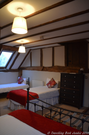 Twin Beds in the Rochester Suite, Pluckley Kent Elvey Farm