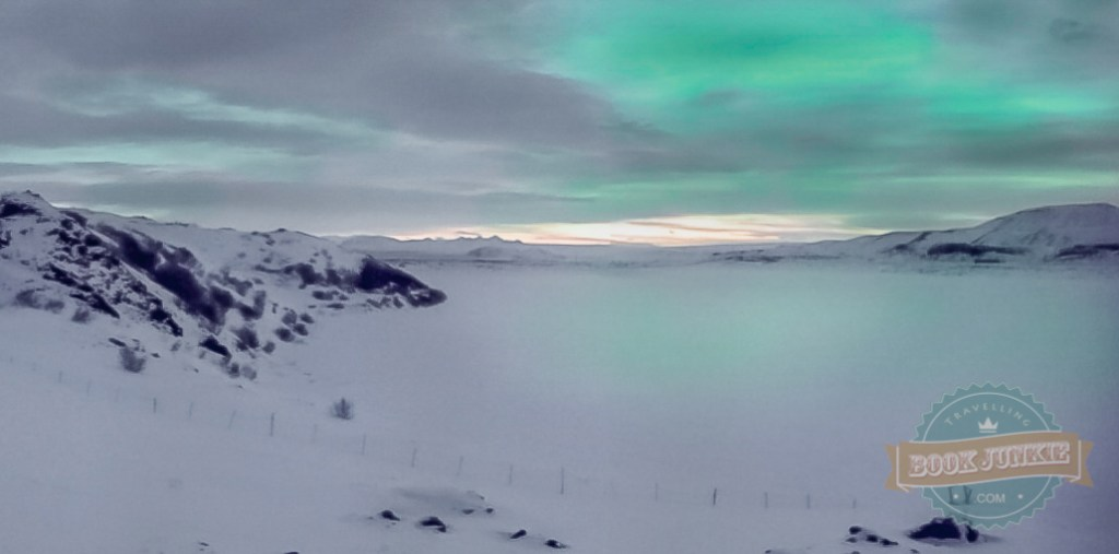 Northern Lights captured from the ION Adventure Hotel Iceland