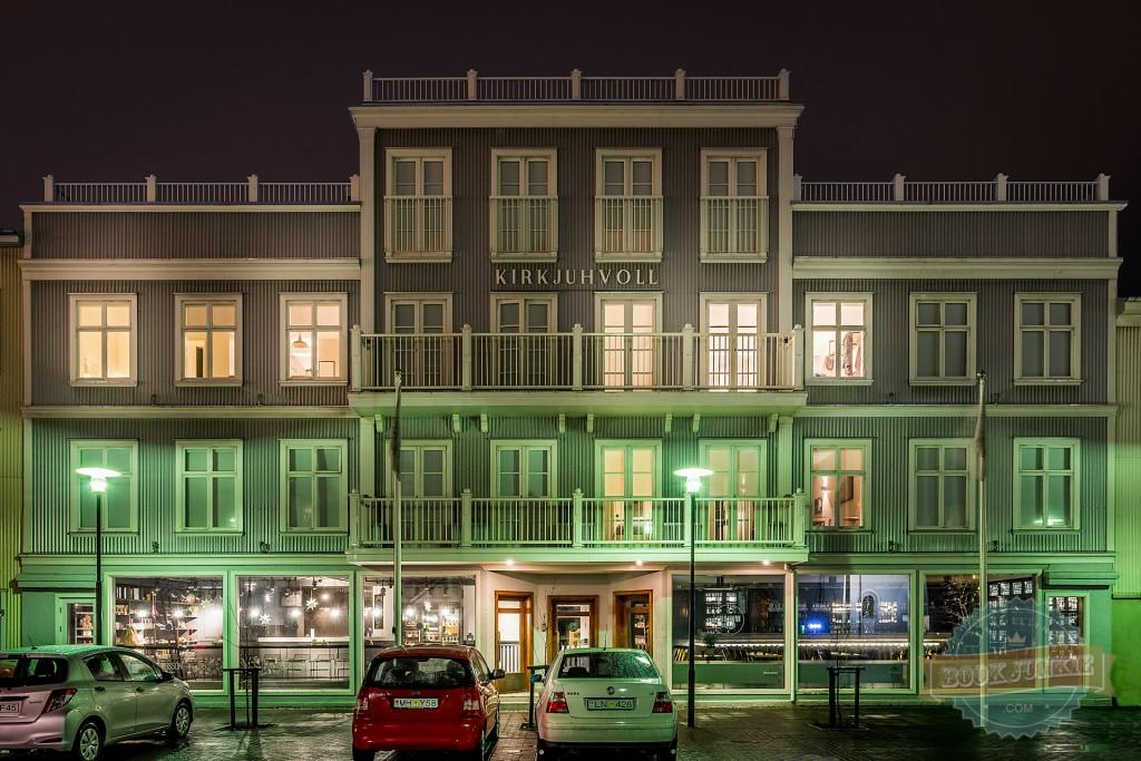 Kvosin Downtown Hotel,  Reykjavik, Iceland.