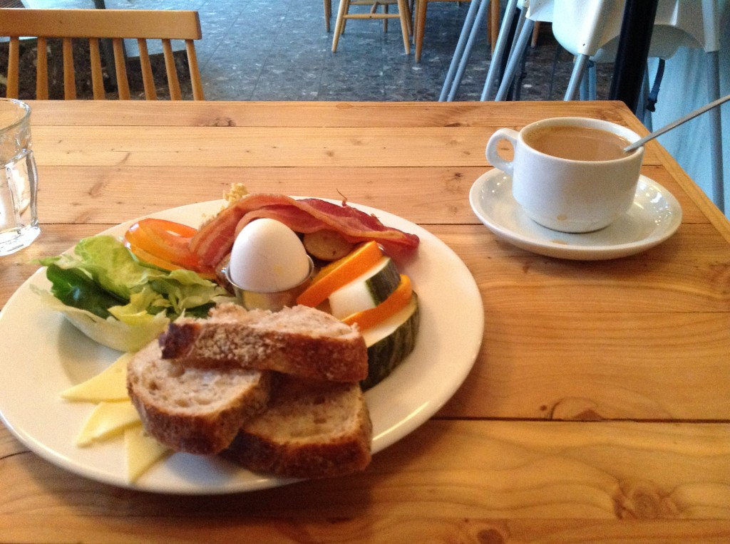 Breakfast at the Kvosin Downtown Hotel Iceland