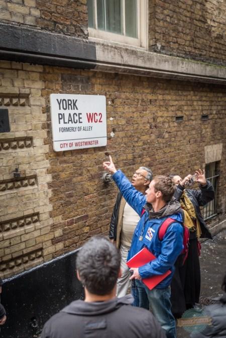 Matt Gedge Fun London Tours showing us around the captial