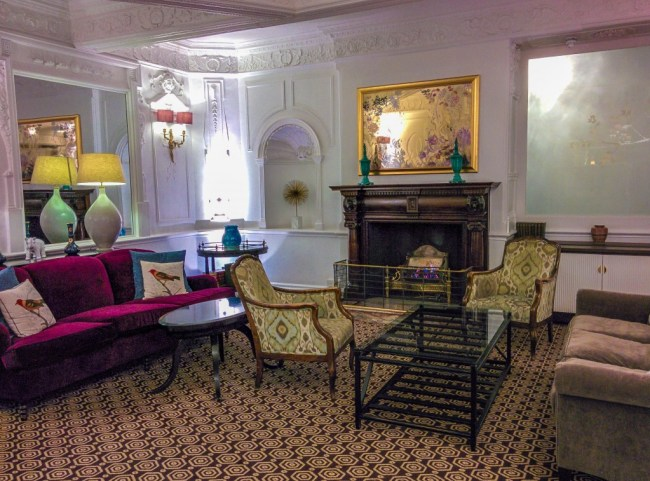 Afternoon Tea Lobby of St Ermins Hotel in London