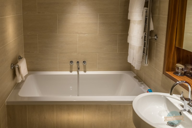 The deep bath at the apex london wall hotel
