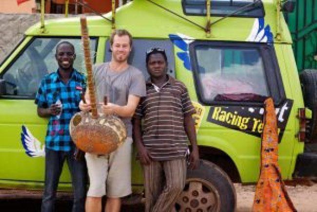Sion Fenton tours around Africa