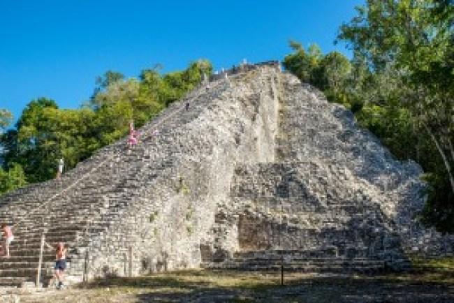 Nohoch Mul, Coba, Yucatan, Mexico