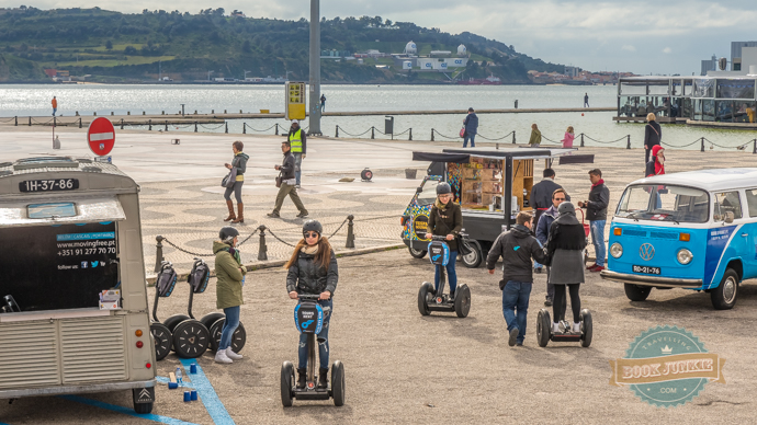 Segways in Lisbon Portugal