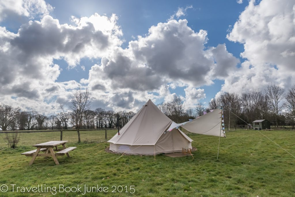 Ambers Bell Tent Norfolk Glamping