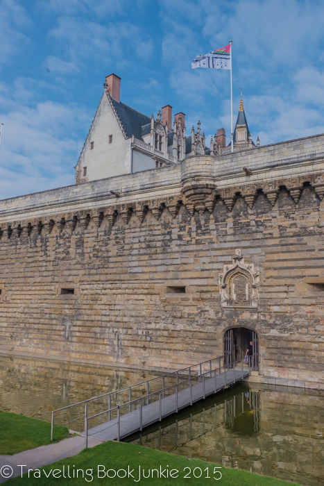 Defense Walls of Chateau, Nantes, France, Anne of Brittany, Francois II