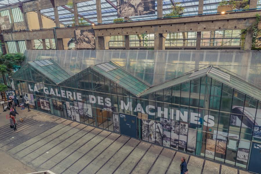 The Galarie Des Machines Nantes France
