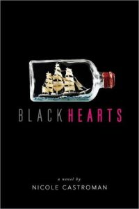 Blackhearts by Nicole Castroman, a book about Blackbeard published in 2016