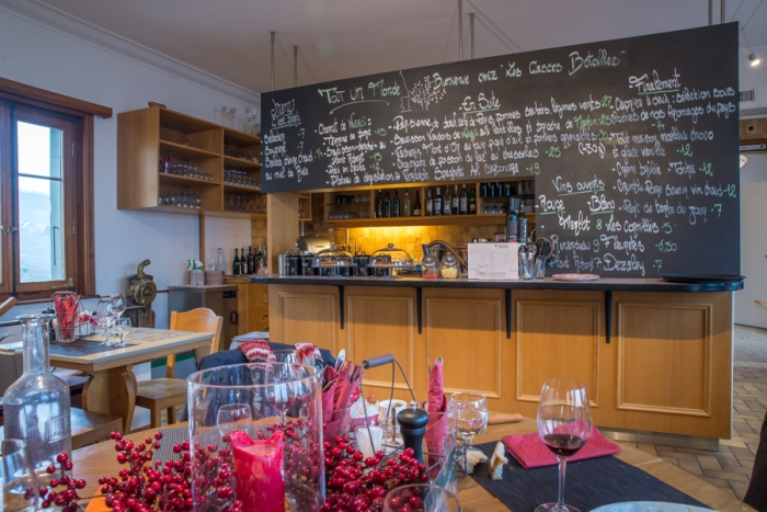 Tout Un Monde, Restaurant, Lake Leman, Lake Geneva, Lausanne, Vineyard, UNESCO, Switzerland
