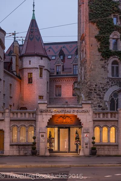 Chateau d'Ouchy, Lake Leman, Lake Geneva, Lausanne, Switzerland