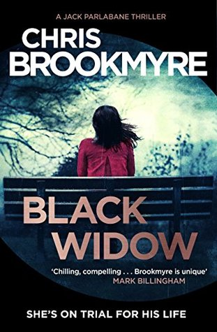 Black Widow, Chris Brookmyre, Crime Thriller Novel