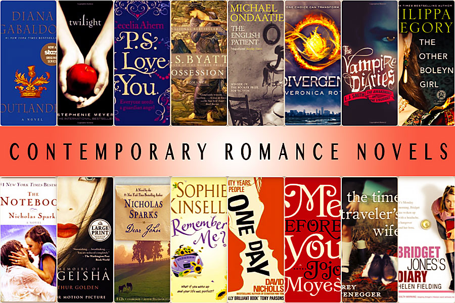 Contemporary romance novels