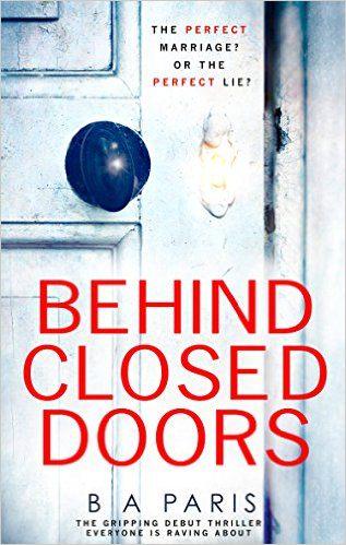 Behind Closed Doors, B.A Paris, Book , novel
