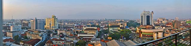 Bandung City, City views, Indonesia