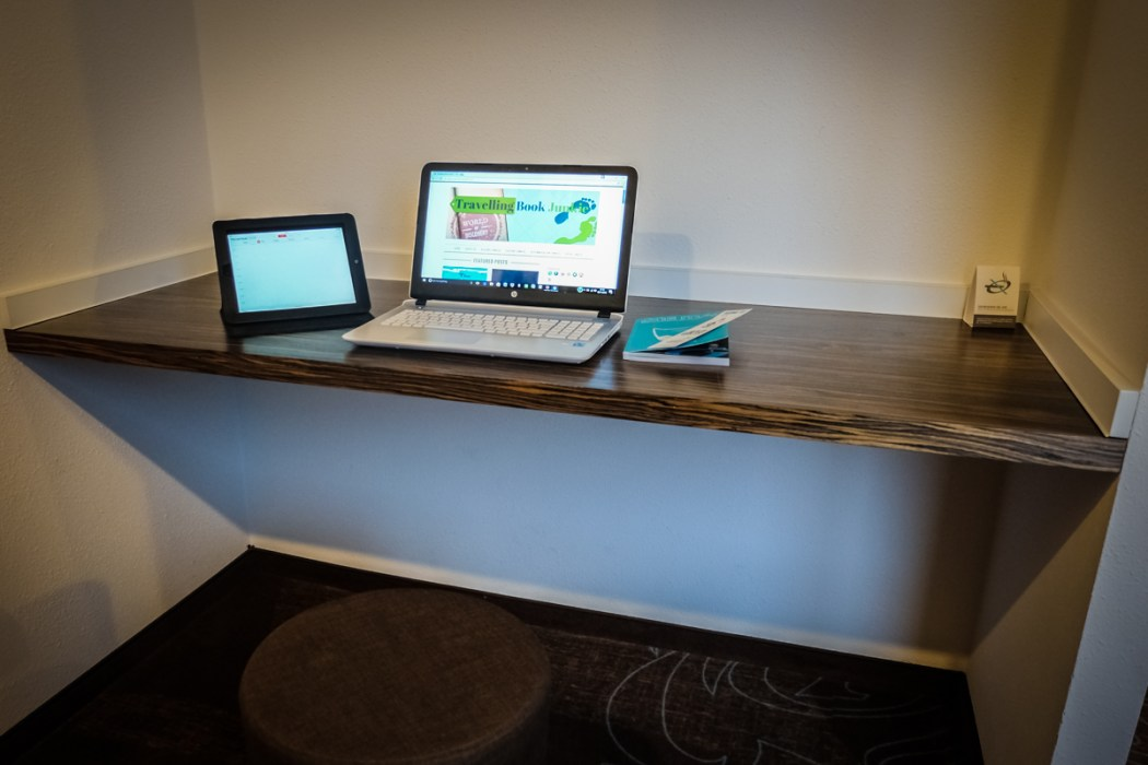 Work space, Motel One, Essen, Germany