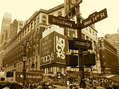 New York, Broadway! America