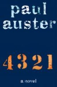 4 3 2 1 published in January 2017, books, novels