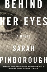 Behind Her Eyes published in January 2017, books, novels