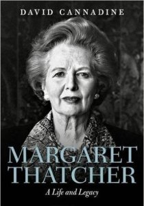 Margaret Thatcher published in January 2017, books, novels
