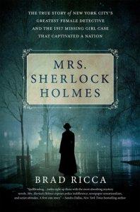 Mrs Sherlock Holmes new release for January 2017, books, novel