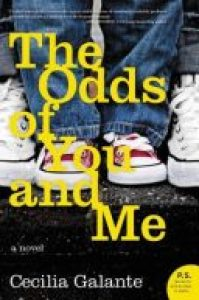 The Odds of You and Me, published January 2017, books, novel