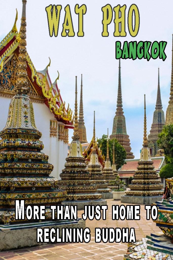 Wat Pho, reclining buddha, Thailand, Bangkok. Temple, Buddhism, Travel, Travelling, travelling Book junkie