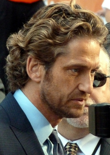 Gerard Butler, Atlantic city, America, USA, Hollywood, films, stars, Travelling Book Junkie