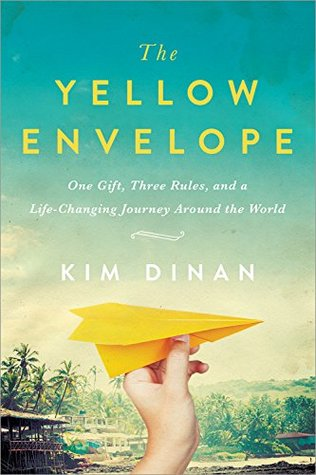 April new read, book, novel, The Yellow Envelope, Kim Dinan, Blogger, Traveler, Writer, Travelling Book Junkie