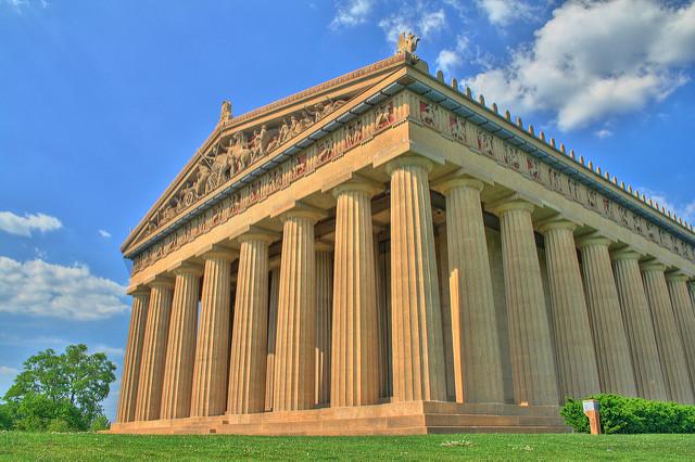 Nashville Parthenon, Family vacation, holidays, travel, Travelling Book Junkie