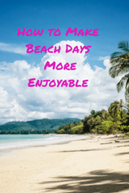 Like to visit the beach but find it stressful? Want to make your beach days more enjoyable?
