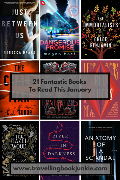 January 2018, Novels to read in January