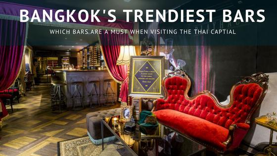 6 of Bangkok's trendiest bars that everyone should visit when next in Thailand via @tbookjunkie