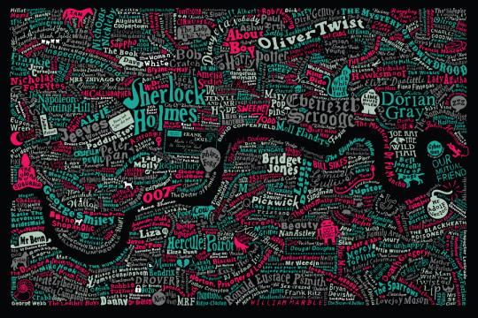Literary maps can help plan your next trip as a book lover
