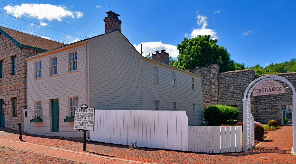 Mark Twain's boyhood home in Hannibal is a must visit literary location all bookworms need to visit