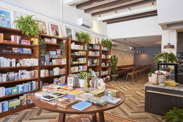 The Moon is Singapore is a fantastic place for coffee fans and book lovers to visit when in the city