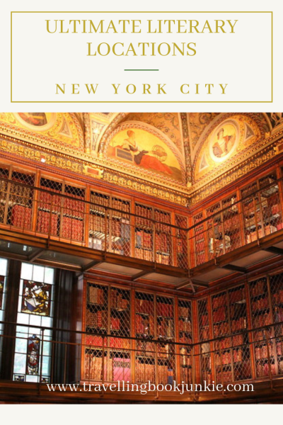 A Bookworm's ultimate guide to literary locations in New York