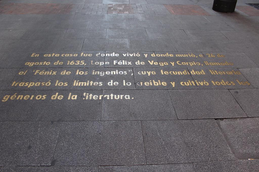 Barrio de las Letras, Madrid, Spain