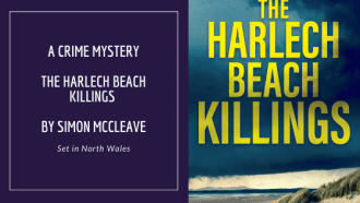 The Harlech Beach Killings by Simon Mccleave, a full review via @tbookjunkie