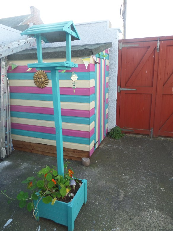 The beach hut shed