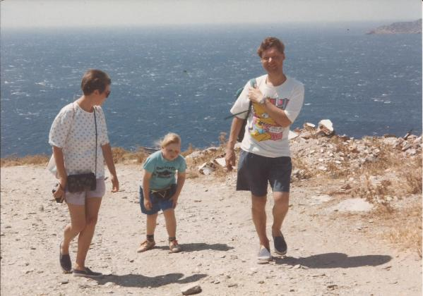 Andros walks 2 - Travelling Sylvia -  what my mother did on holiday