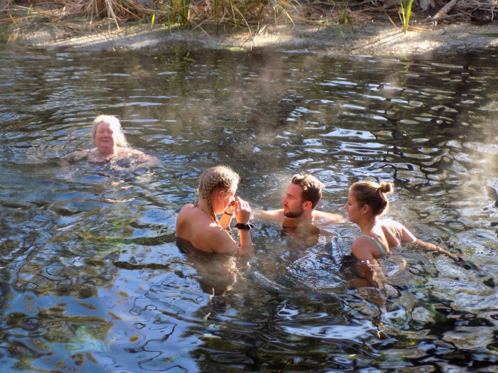 Thermal springs in the NT