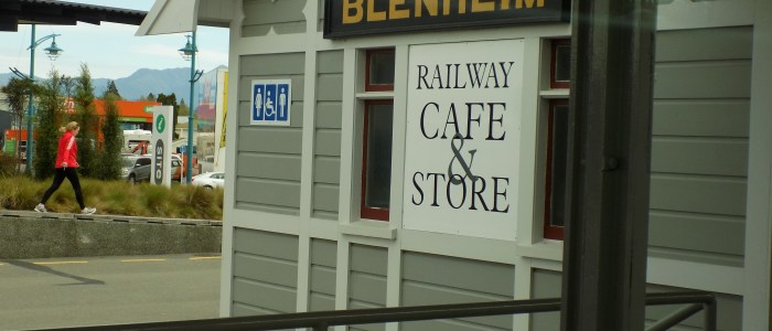 Blenheim Station