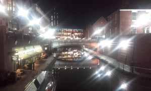 Birmingham canal night Copy - Three reasons to visit Birmingham now